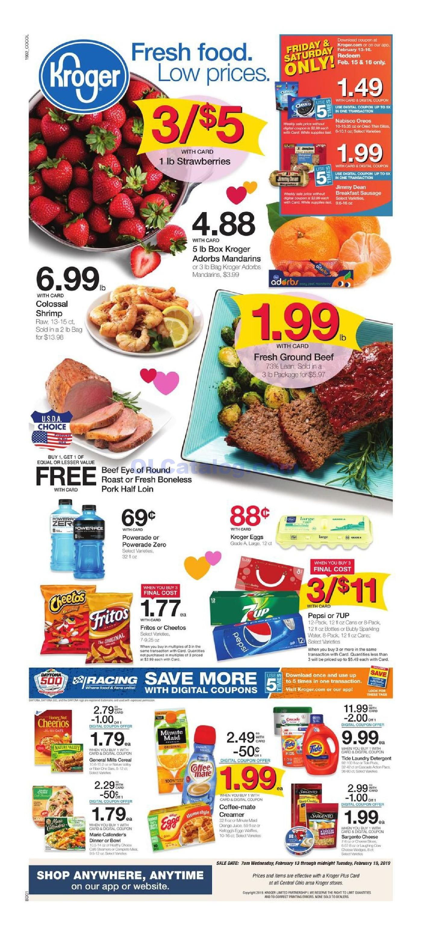 Kroger Ad This Week March 13 19 2019