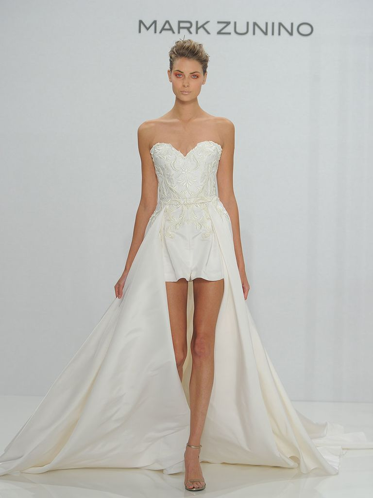 Mark zunino for kleinfeld fall feminine silhouettes with