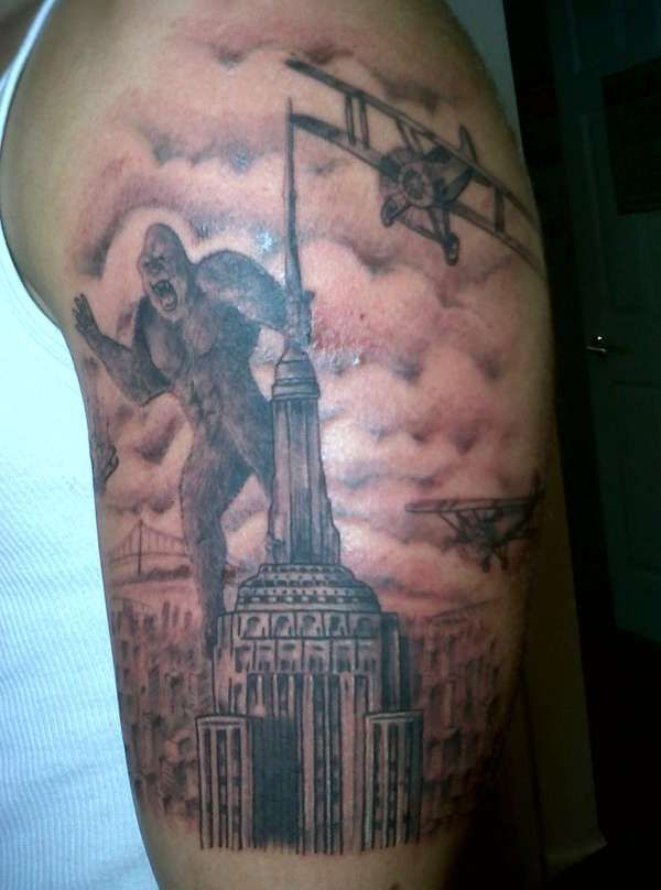 King Kong Tattoo King Kong Tattoos Pinterest Tattoos King