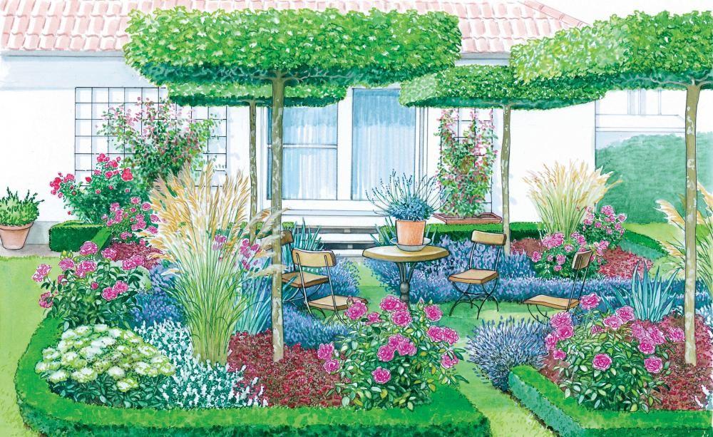 1 Garten 2 Ideen Vom Rasen Zum Garten Garten Gartengestaltung Garten Anlegen