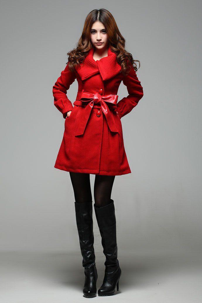 Red coat | My coats | Pinterest