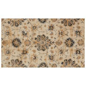 A344 Willow Floral Ivory Mlt 3x5 Rugs Floor Decor