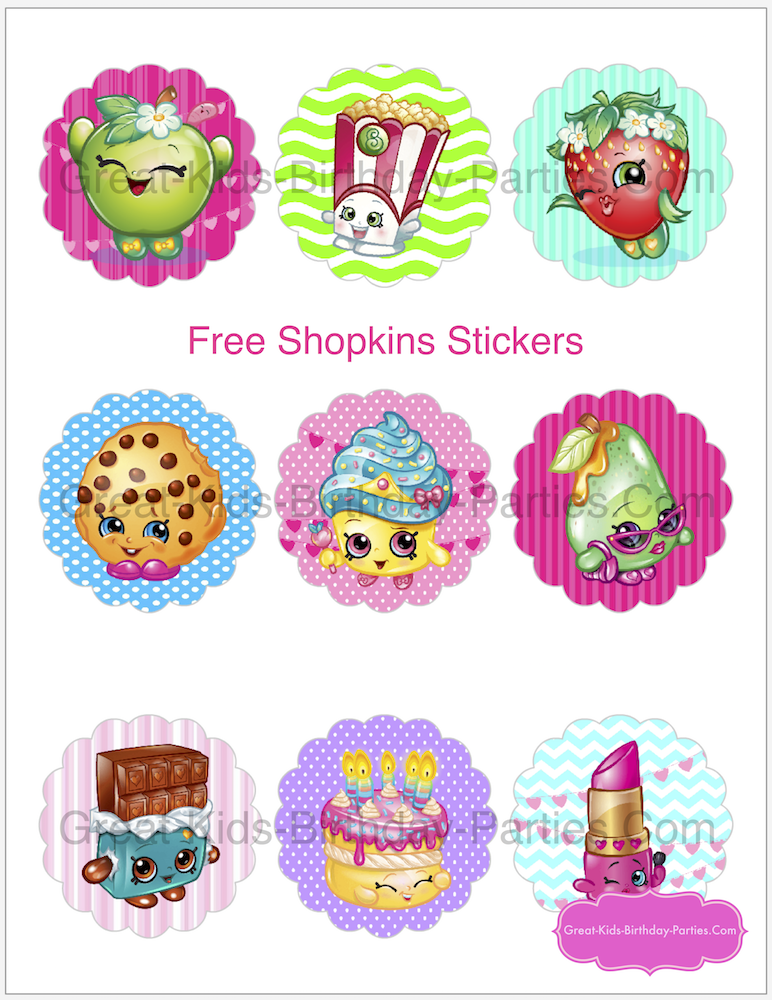 Shopkins Birthday Party | Birthday parties kids, Shopkins and Free ...