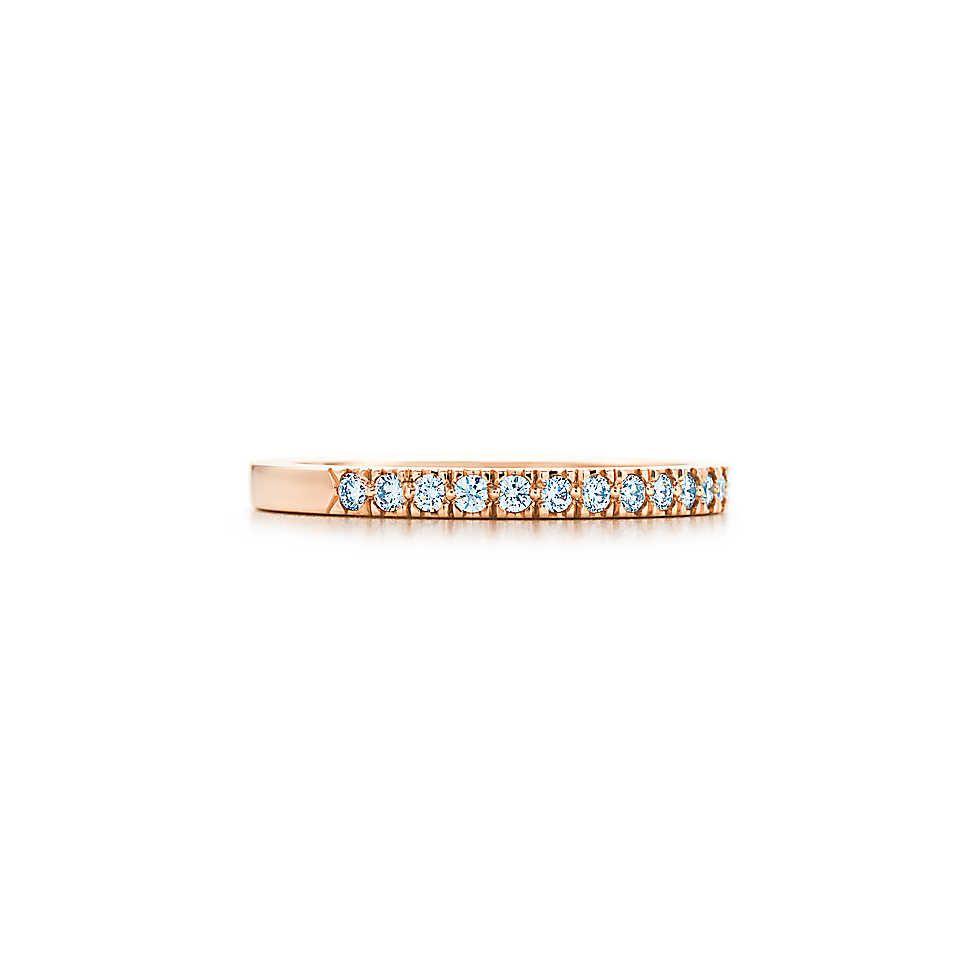 Tiffany Novo ring in 18k rose gold. | Tiffany & Co.