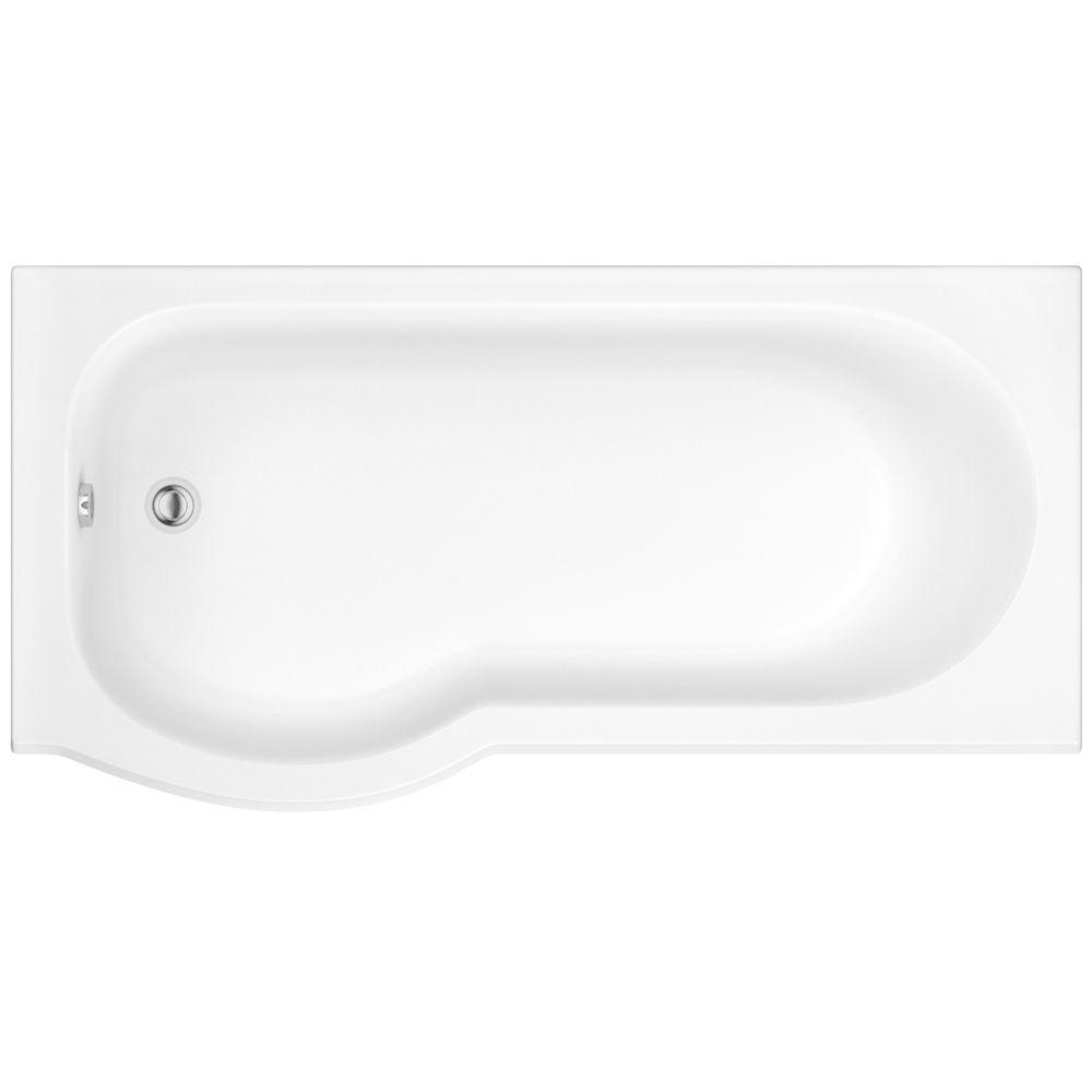 PBCUSB1675LH Curve shower bath 1675 left hand