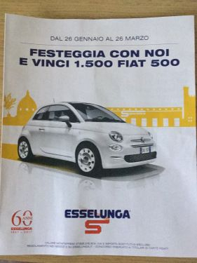 Concorso Esselunga – Missione risparmio Bergamo