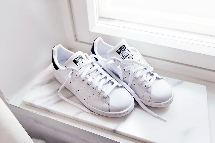 Adidas Stan Smith Navy And White
