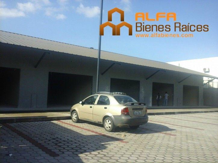 Se alquila local comercial 216m2 - Vía a Daule  Para mayor información ver el link: http://glurl.co/ltS