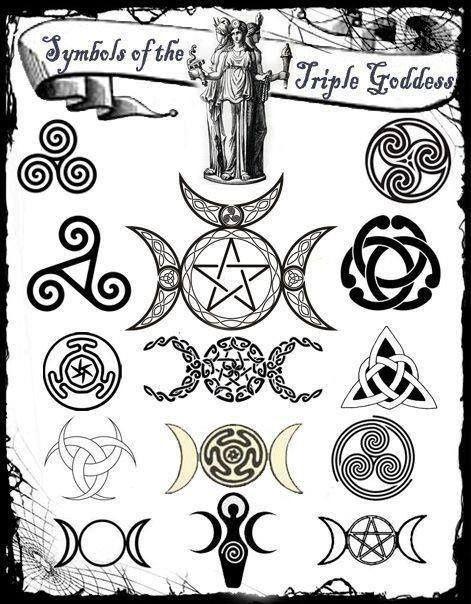 Resultado de imagen de simbolo de la diosa