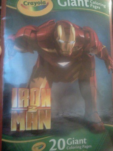 Iron Man 20 Giant Coloring Pages By Crayola 15 95 20 Giant Coloring Pages 20 Giant Coloring Pages Drawings Painting Supplies Painting