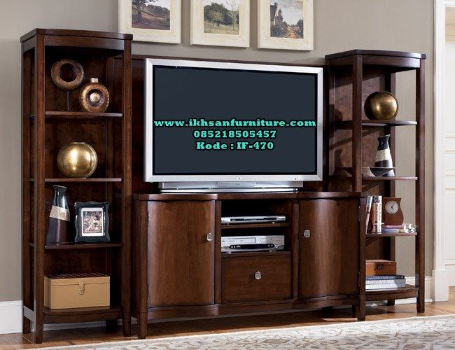 Jual Bufet Tv Kayu Jati Murah Model Bufet Tv Kayu Jati