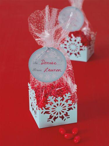 Martha Crafts Christmas Cellophane Treat Bags