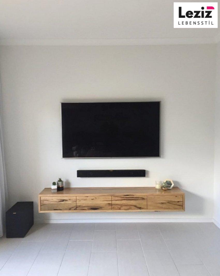 Collie Floating Tv Gerät Tvgerät Floating Shelves Living Room Floating Shelf Under Tv Floating Tv Stand