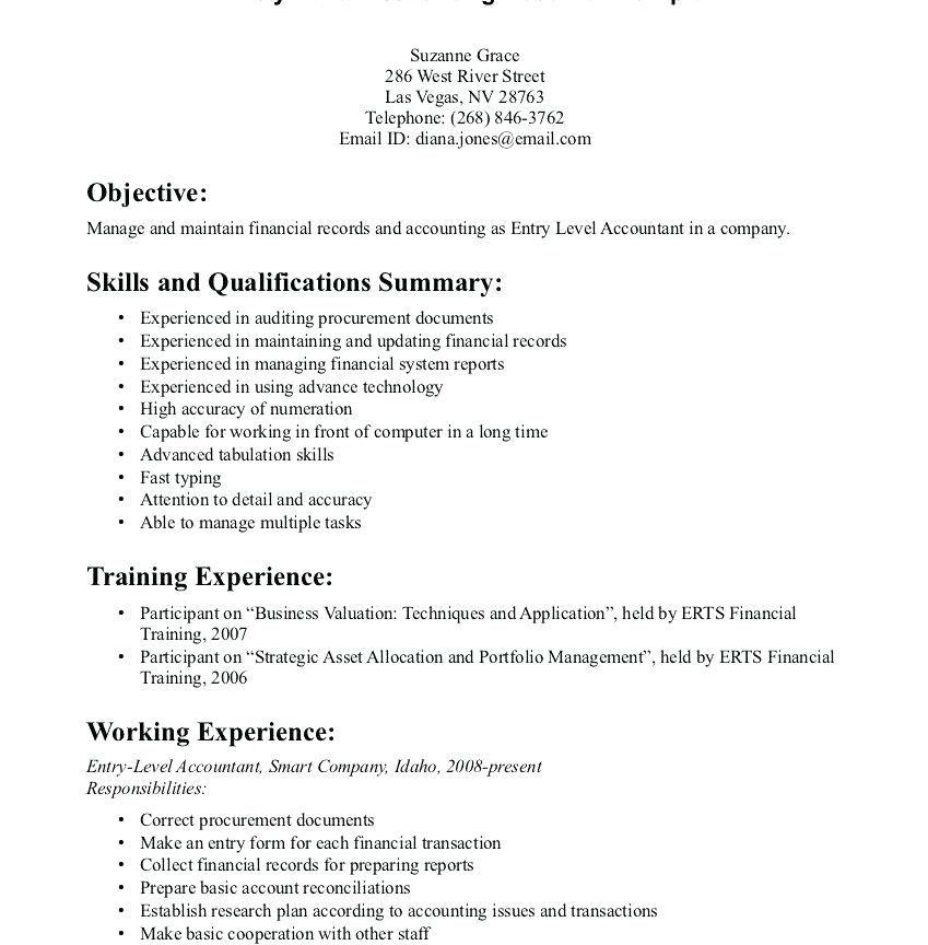 Resume Examples Qualifications Pinterest Resume examples and