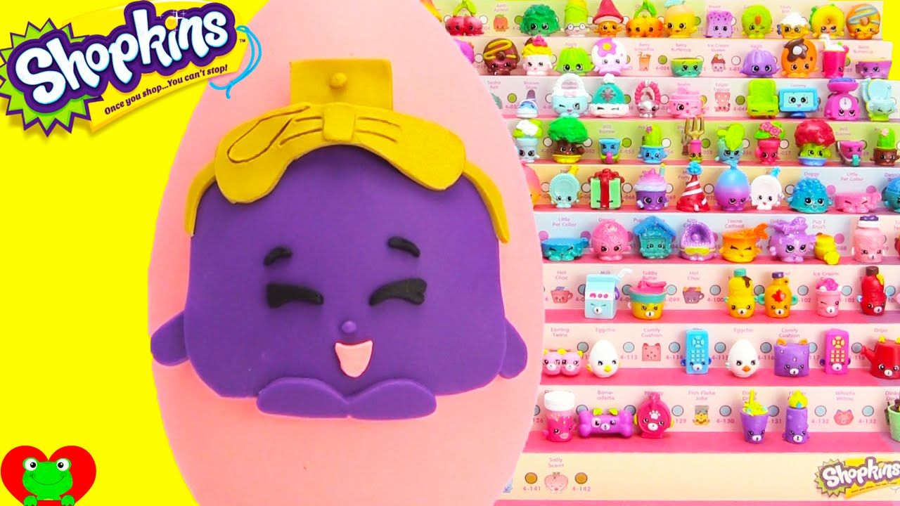 Shopkins Fiona Fries Play Doh Surprise Egg and Limited Edition Hunt |  Shopkins | Pinterest | Shopkins, Play doh and Plays