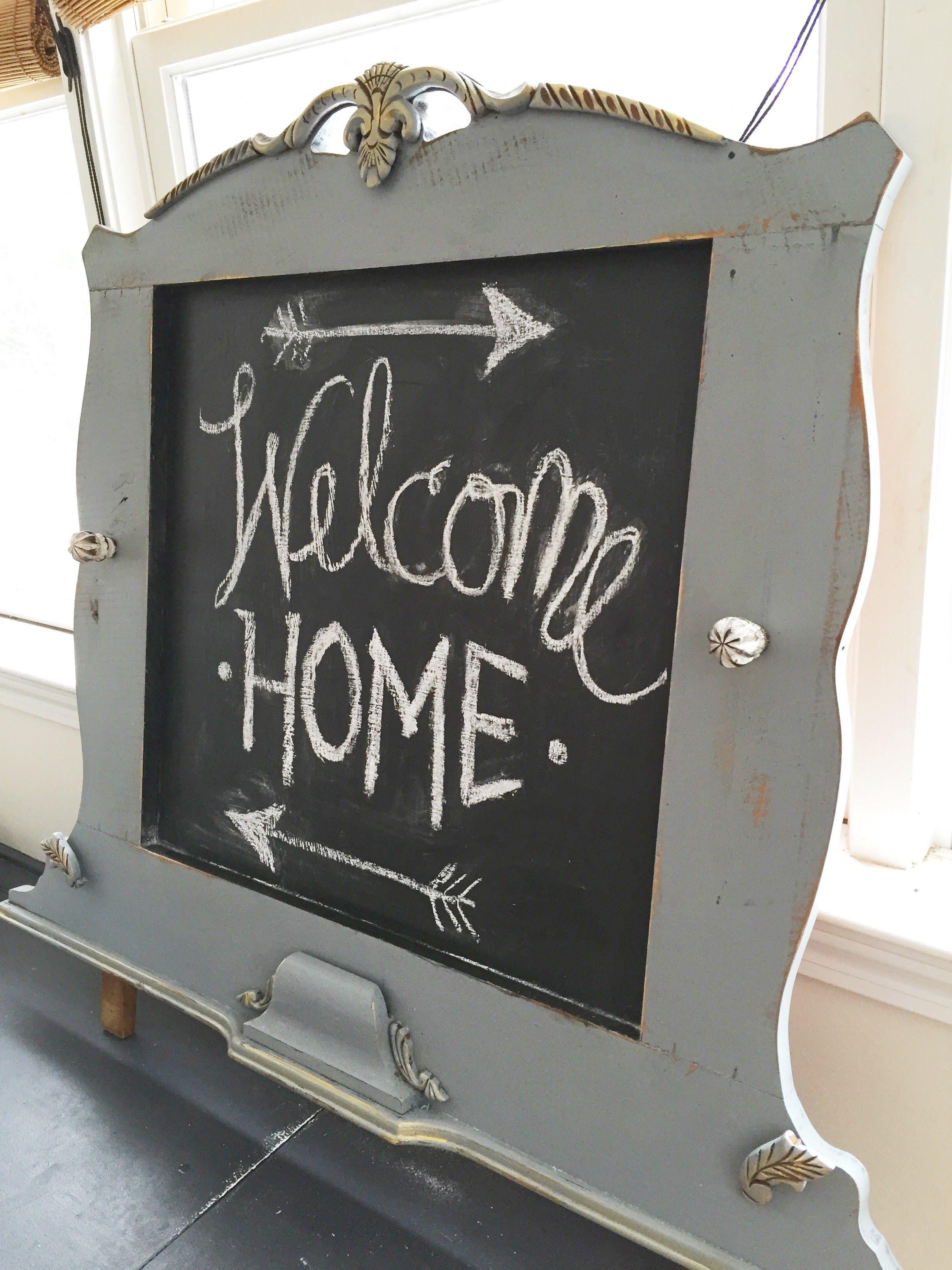 Pin de Suburban Re-style en Vintage Frame Chalkboards | Pinterest