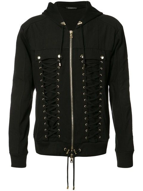 c84326f09cb BALMAIN Lace-Up Sweater.  balmain  cloth