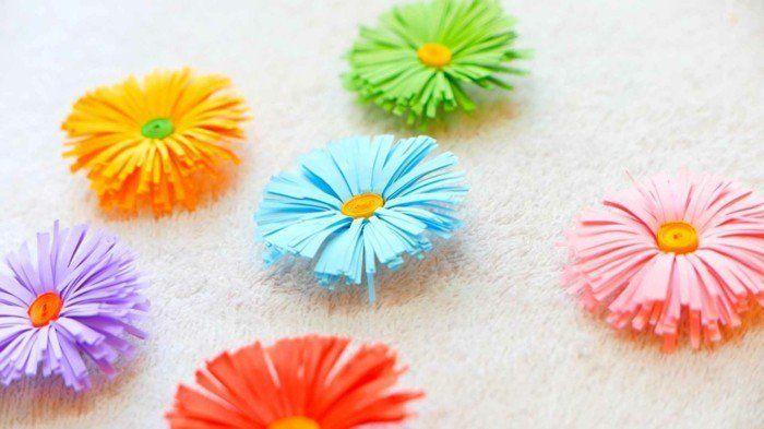 Blumen Selber Basteln 55 Ideen Für Kinder Und Erwachsene Die Gern