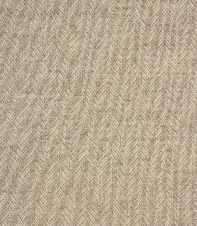 Oban Wool Natural Fabric Upholstery Fabric Curtain Material