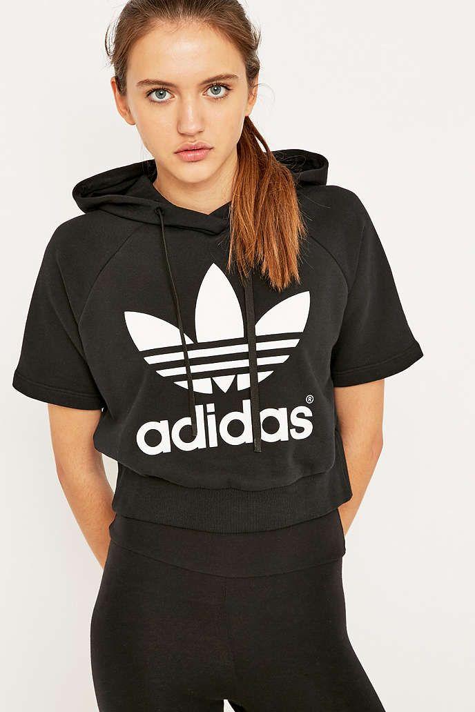 adidas cropped sweatshirt