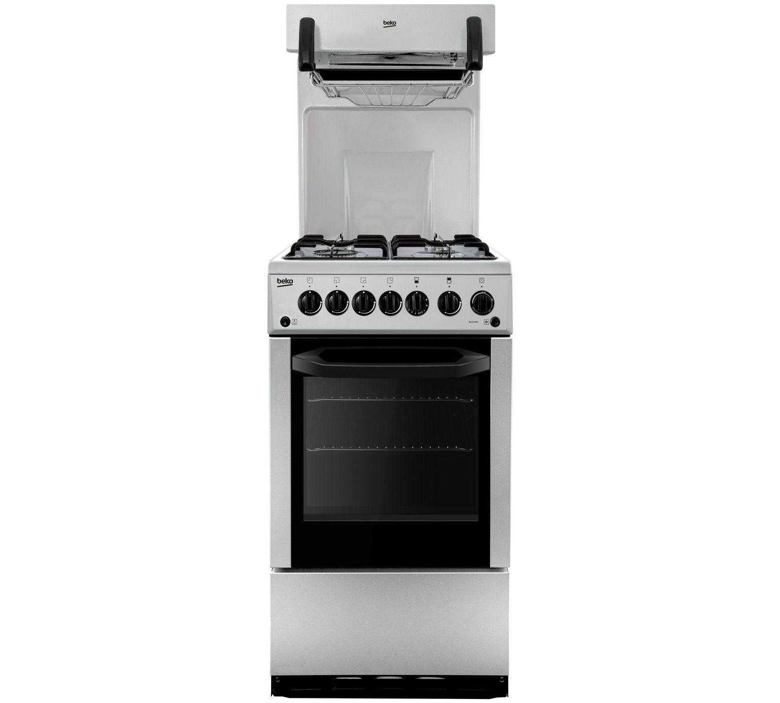 Buy Beko BA52NES Gas Cooker Silver at Argos Your line
