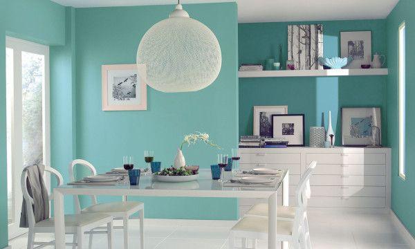 colores-para-paredes-2016-comedor-turquesa en 2019 ...