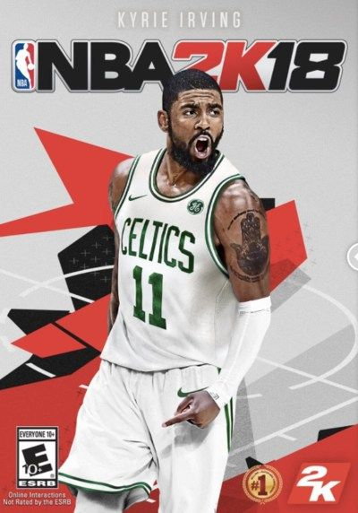 0a1cf9b6b35f NBA 2K18 Has an Alternative Cover of Kyrie Irving in a Celtics Jersey