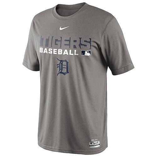 Oakland Athletics Nike Legend Team Issue Performance T-Shirt - Gray