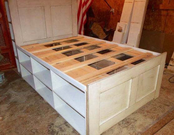 Queen Platform Storage Captain S Bed By Sameasnever On
