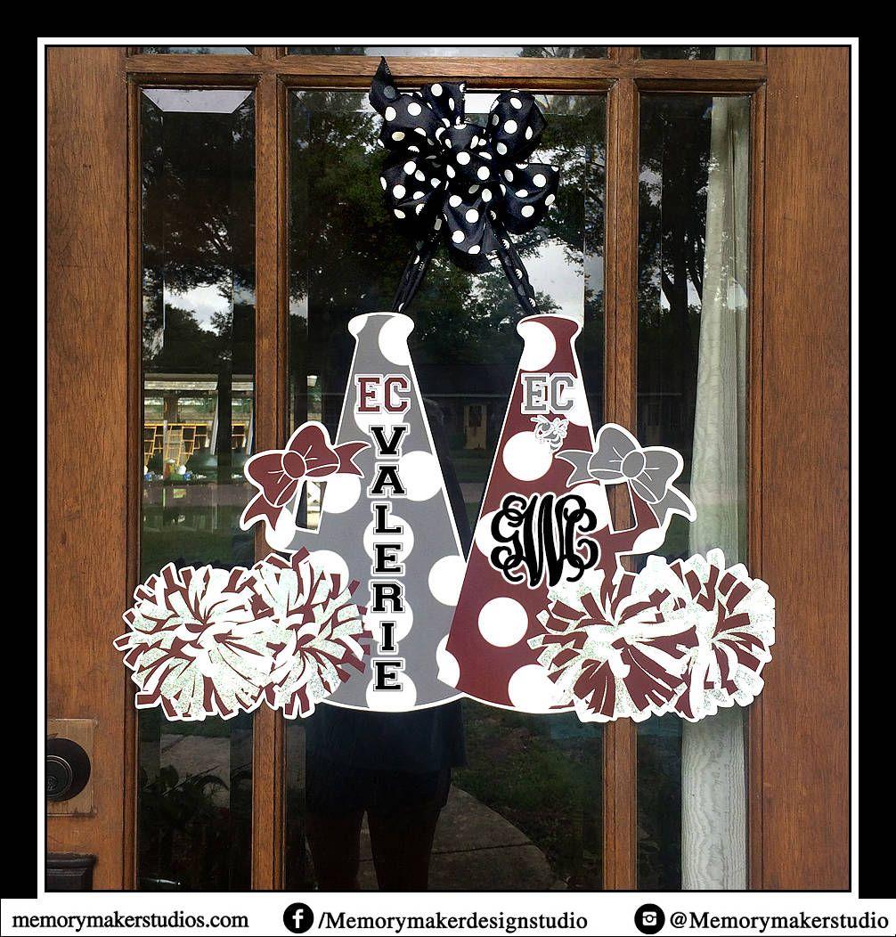 Cheer Camp Door Hanger Cheerleader Door Hanger Cheer