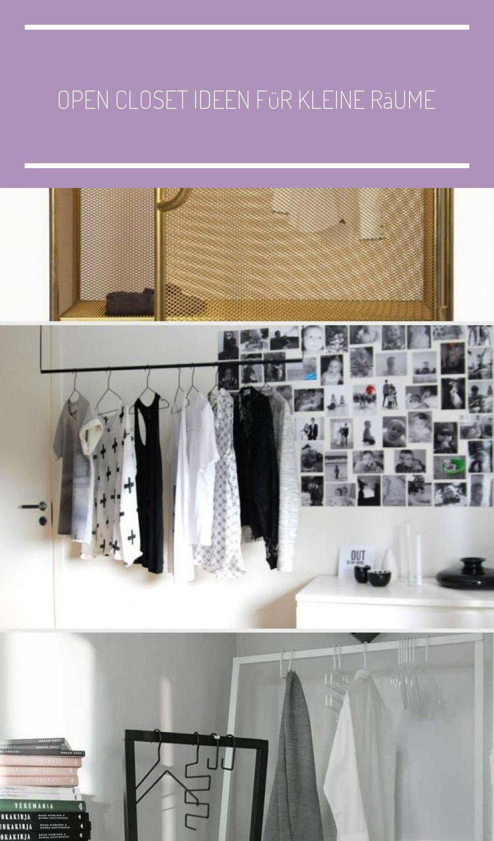 Open Closet Ideen Fur Kleine R In 2020 With Images Open Closet Wardrobe Rack Motif Design