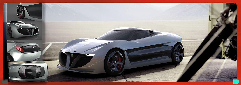 Zagato Alfa Romeo Division 2019 Concept by Marco De Toma | Concept ...