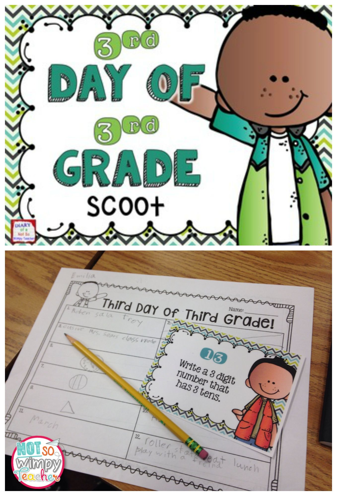 Back To School Third Day Of Third Grade With Images