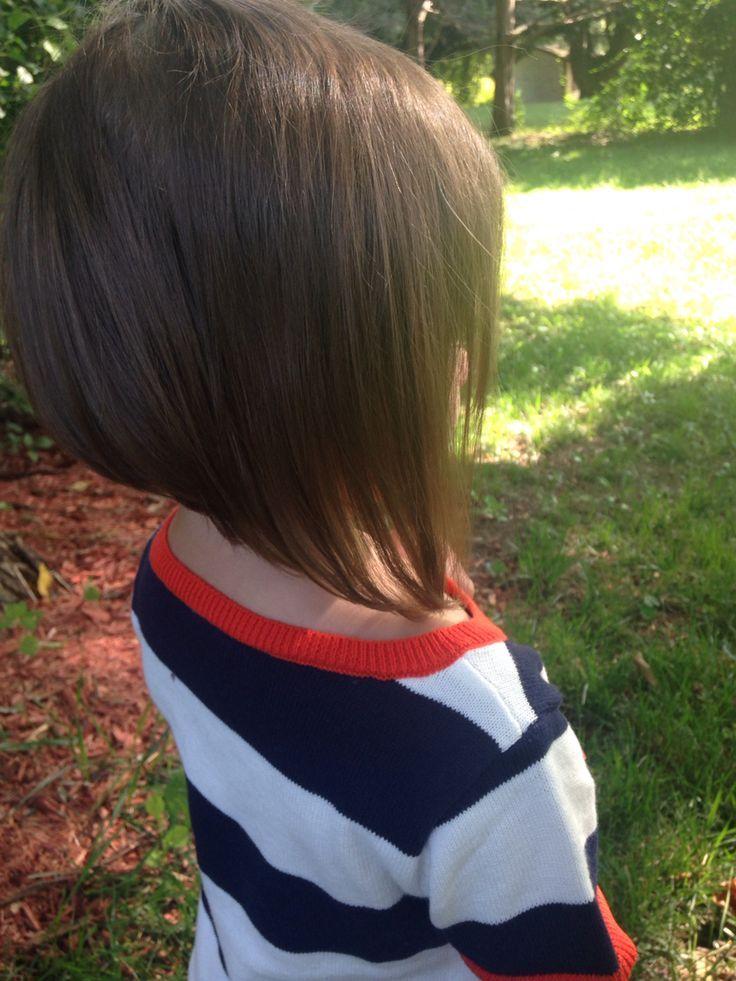 nice Stacked bob little girl haircut... | Little Girl ...