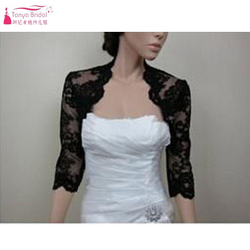 Womens Evening Party Prom Wedding Lace Bolero Cocktail Jacket Shrug