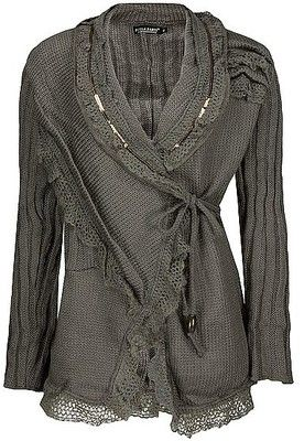 Inspiration: Forla Paris Wrap Cardigan Sweater sold out - buckle ...