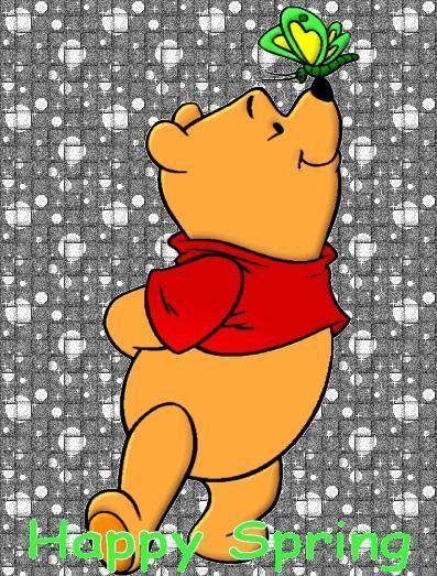 Картинки по запÑ€осу winnie pooh happy spring