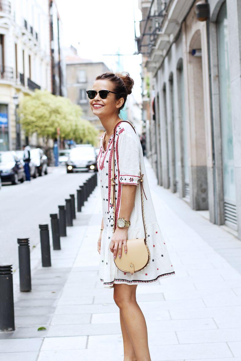 Mango Dress Collage Vintage Fashion Summer Fashion Style [ 1185 x 790 Pixel ]