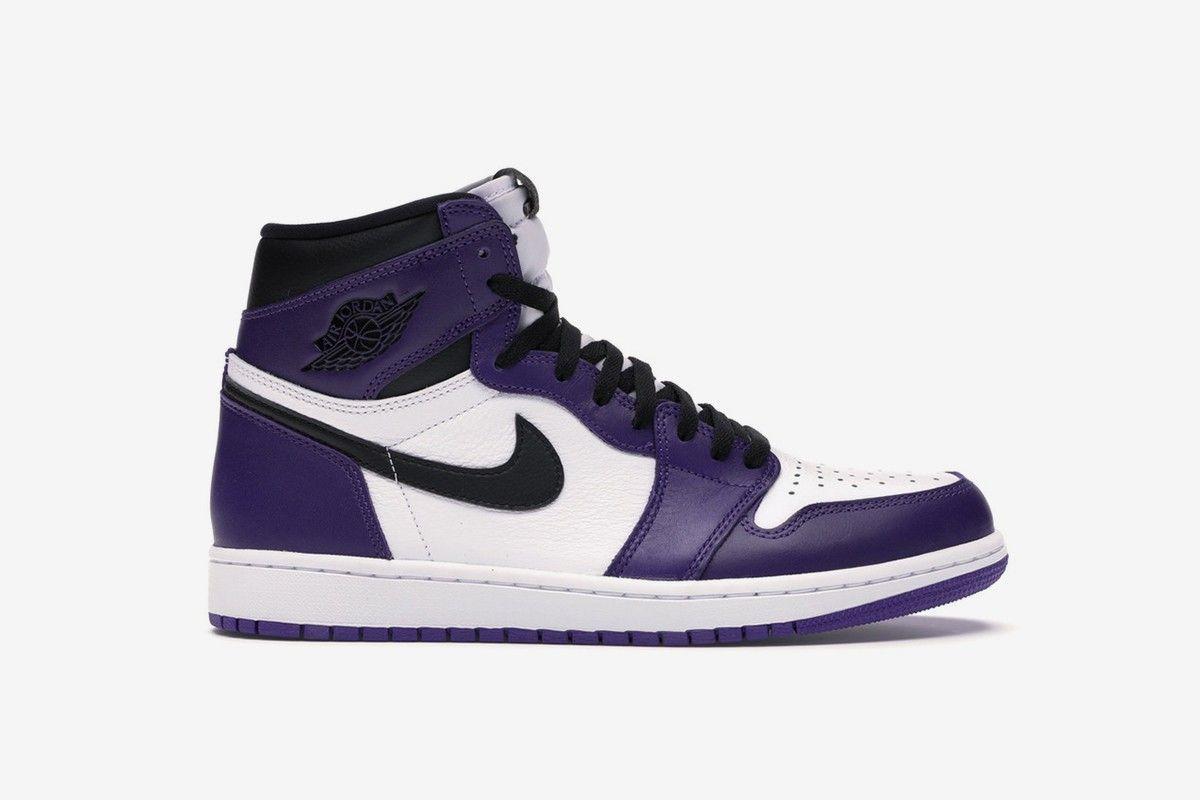 Secure The Nike Air Jordan 1 Court Purple At Stockx Air
