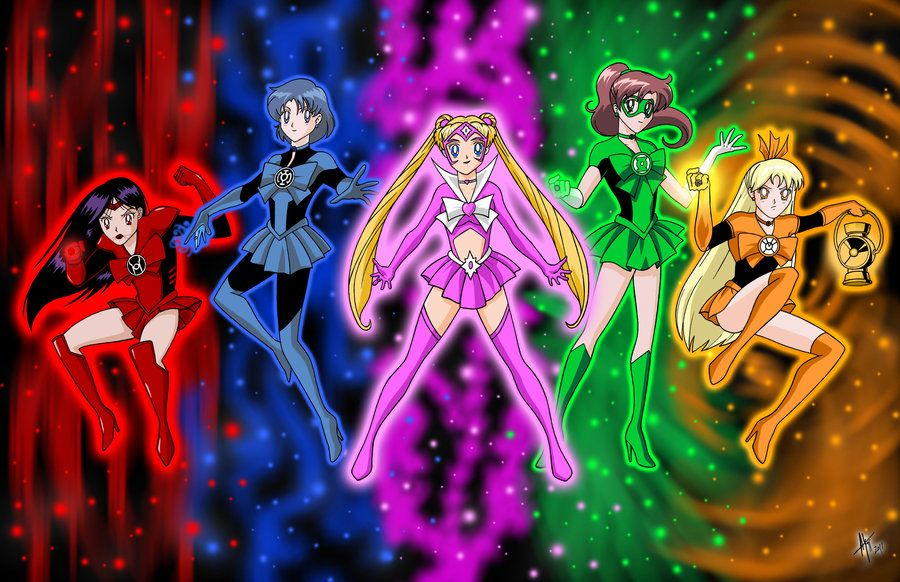 Sailor Lanterns All By Adamtupper Sailor Lanterns Sailor Moon