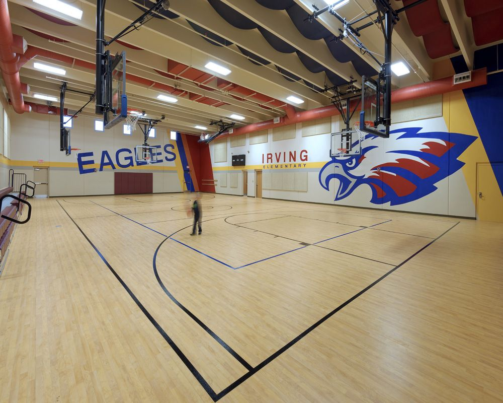 Elementary school FEMA safe room, serves a secondary ...