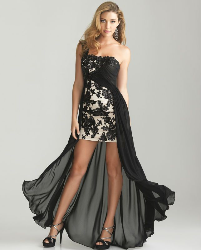 2013-New-Arrival-Black-Chiffon-and-Satin-Formal-Party-Dresses-Gown ...