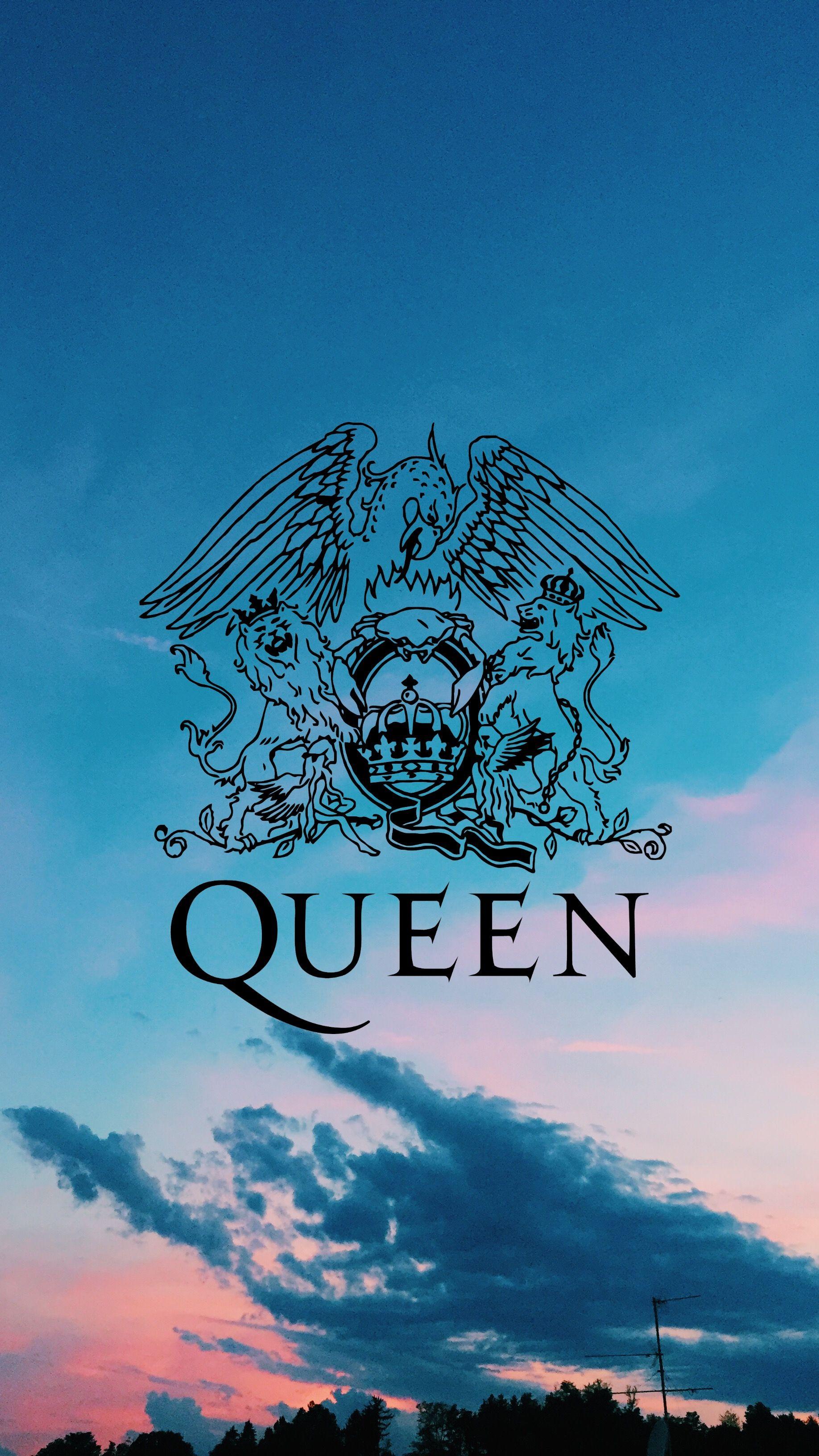 Queen Band 💖 Queen Logo Pôsteres de banda, Papeis de