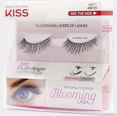 e3f44673c75 Add length and volume to your lashes with Camellias Lashes. These come with  a perfect fluff and follow a natural pattern. #KISSUSA #KissLashes