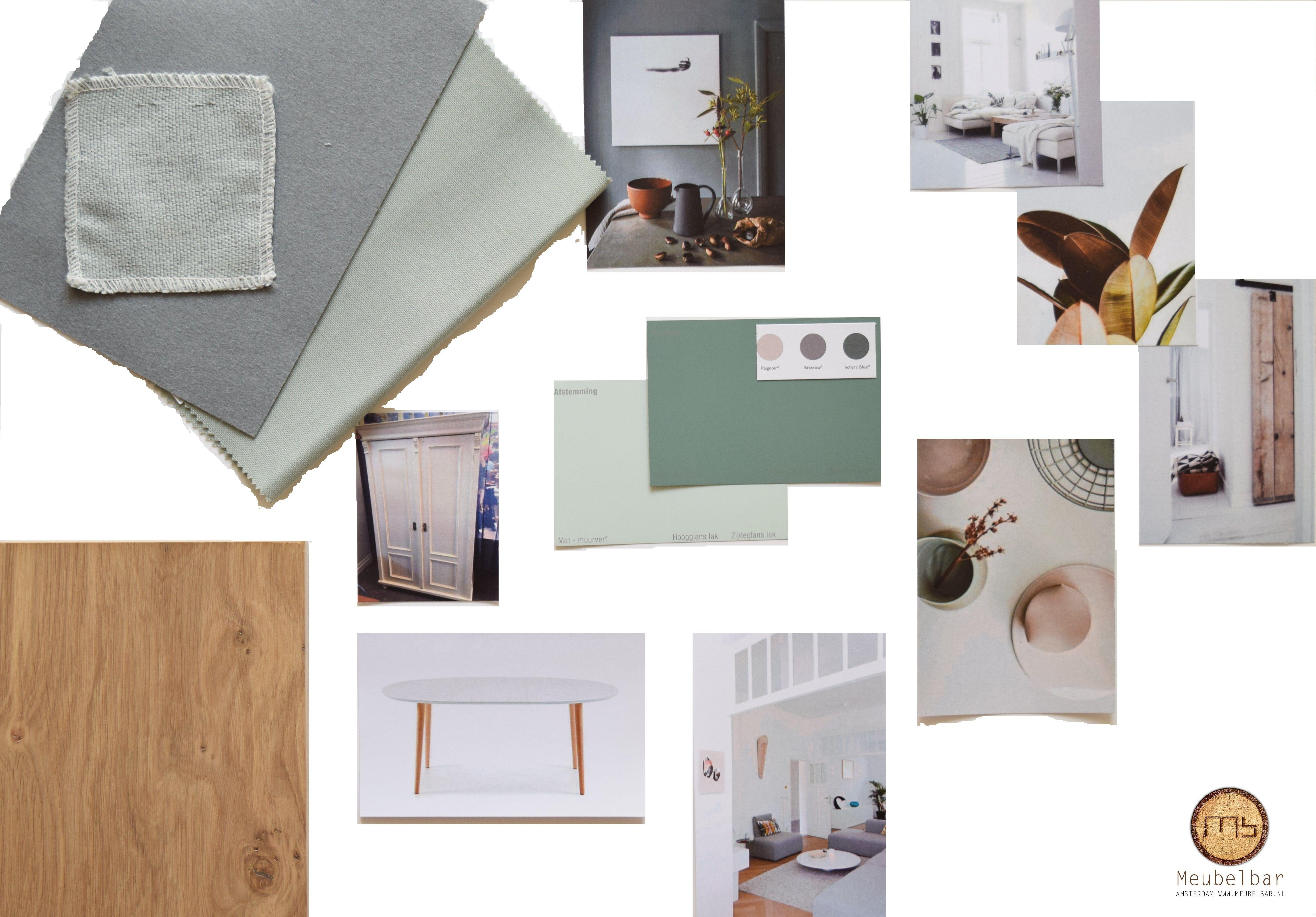 Kleur- en materialenadvies verbouwing appartement De Baarsjes Amsterdam