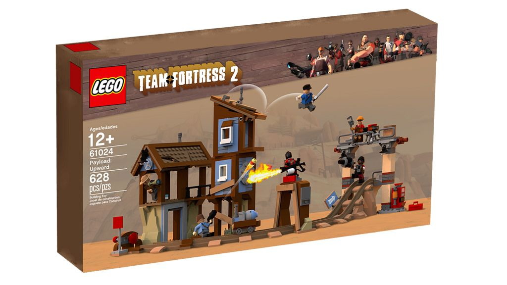 LEGO Team Fortress 2: Payload set [not official!] #games