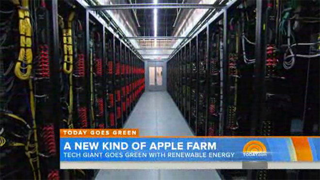 Nbc S Today Offers Rare Look Inside Apple S Icloud Data Center