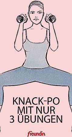Knack-Po mit 3 Übungen | freundin.de