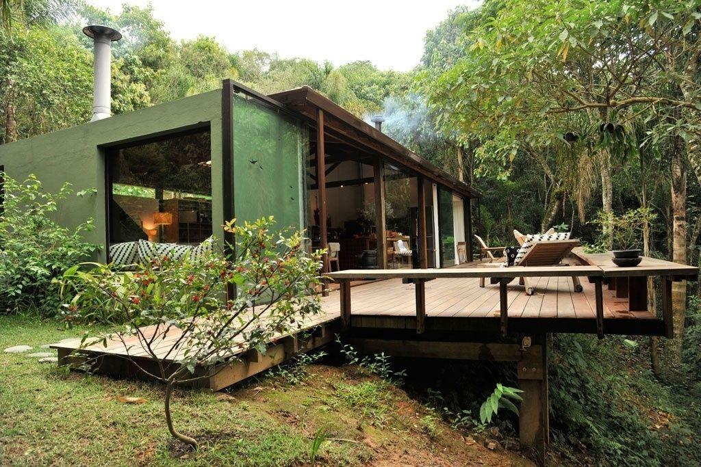 Como construir uma casa em terreno irregular pesquisa google casa la palma pinterest - Construir casa de campo ...