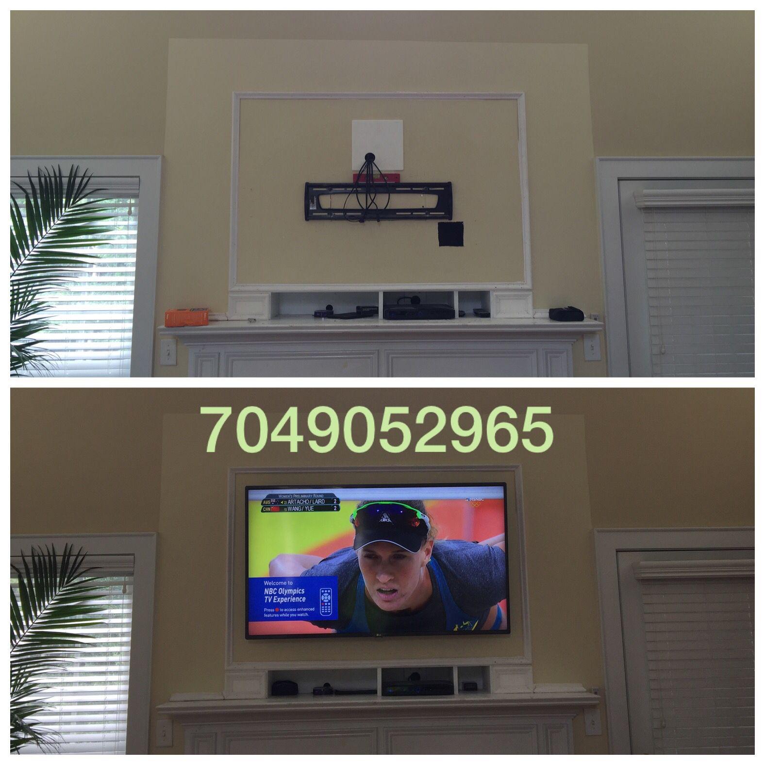 #tvmounting #tvinstallation #freetvmounts #infinitedesigns #tvmountcharlotte  #hometheater #charlotte #4ktv #flatscreen #hangtv #mounttv #tvmount www.tvmountcharlotte.com 7049052965